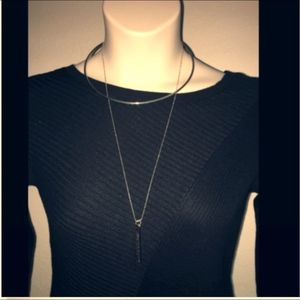 Express Necklace Silver in color Womens NWT $24.90